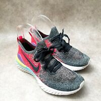 Nike Mens Epic React Flyknit 2 BQ8928-007 Sz 23cm 4 M Multicolor Running Shoes