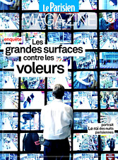 Le PARISIEN ou AUJOURD'HUI Magazine 13/07/2017**VOL en Grande surface*THIS IS US