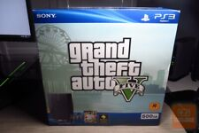 PlayStation 3 PS3 Super Slim Grand Theft Auto V 500GB Black Console Bundle NEW!