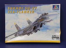 Italeri 197 Sukhoi Su-27 Sea Flanker Kit 1:72 Sealed 1994  Italy