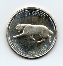 Canada - 25 Cent 1967 UNC