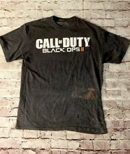 Call Of Duty, Black Ops 2 Video Game T Shirt, Activision, Size Large, Distressed