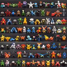 144pcs Pokemon Toy Set Mini Action Figures Pokémon Go Monster Kids Gift 2-3cm