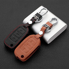 PU Leather Car 3 Button Key Cover Case Shell for VW Polo B5 Golf 4 5 6 Jetta Mk6