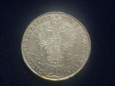 20 Kreuzer 1823 A Wien Franz  W/15/110/A