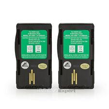 2 x Ntn7394 Ntn7395 Ntn7396 Battery for Motorola Visar