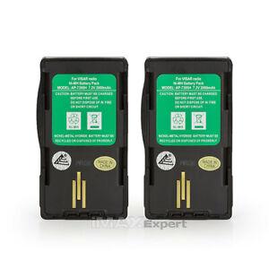 2 x NTN7394 NTN7395 NTN7396 NTN7397 Battery for MOTOROLA VISAR