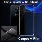 Film De Protection Pour Samsung Galaxy S8, S8Plus ou Coque silicone transparente