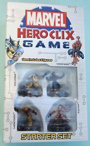 Jeu neuf MARVEL HEROCLIX GAME contenant 6 Figurines super héros .