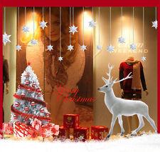 Wandtattoo Deko Wandsticker Wandaufkleber Fensteraufkleber Weihnachten #9707