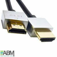 50CM HDMI PREMIUM GOLD Cable Male to Male HDTV 3D 2160P Full HD Lead 0.5 Meter
