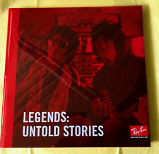 Ray-Ban Legends:Untold Stories 75th Anniversary Limited Edition Book Red Cover