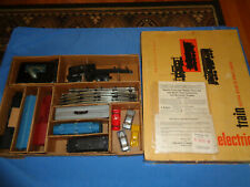 Marx #9634 Sears Allstate Freight Train Set w/#666 Locomotive. Runs/Smokes Well
