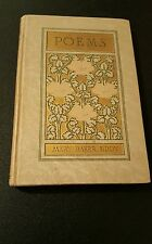 1910 Poems by Mary Baker Eddy Vintage Book Christian Science Fine Decorative ED