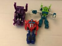 Transformers Action Figure cyberverse shockwave Repugnus Optimus mix lot Hasbro