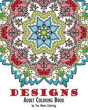 Adult Coloring Book Kids Art Mandalas Design Pattern Relax Stress Relief -Paint
