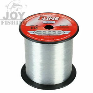 P-Line Cxx Crystal Clear X-Tra Strong Fishing Line 600 Yards Select Lb Test