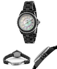 Swiss Legend Women's 20050-BKWSR Karamica Collection Black Ceramic Watch