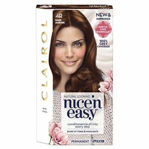 Clairol Nice 'n Easy Permanent Hair Dye Number - 4R DARK AUBURN