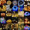 Electric/Solar/Battery Operated Home Garden Decor Fairy Lights String 20-600LEDs
