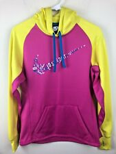 Nike Just Dot It Women's Swoosh Running Athletic Hoodie Sweatshirt Top Size XS