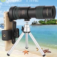 EG_ HK- Portable Travel Monocular Telescope 8-24x30 Zoom w/ Phone Holder _GG