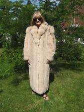 sweet women beautiful must have it super beige  fox fur coat size 11/13 so soft
