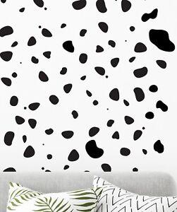 105 Dalmation Spots Vinyl Wall Decal Sticker Dalmatian Print Nursery Bedroom