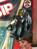 Skeletor MOTU 1983 HG Toys Clip N Sip Sealed MOC MOSC Super Rare Unused Straw