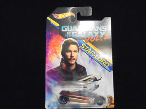 Hot Wheels Marvel Guardians Of The Galaxy Vol .2  Star-Lord Sling Shot 1of 8 New