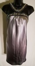 Womans Rhinestone Embellished Club Party Dress by Jump Apparel Size 3/4 H6