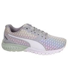 Zapatillas deportivas de mujer planos de piel color principal blanco