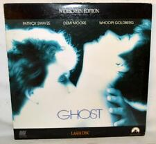 GHOST LASER DISC WIDESCREEN EDITION PATRICK SWAYZE DEMI MOORE WHOOPI GOLDBERG