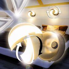 Design LED Wandlampe mit Schalter Wand Strahler Wohn Zimmer Lampen Flur Leuchten