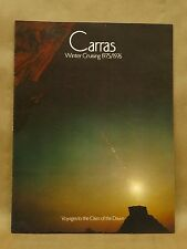 Vintage 1975/1976 Carras Winter Cruise Brochure Floor Plans New Orleans Cozumel