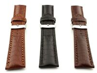 Genuine Crocodile Leather Watch Strap Band SS. Buckle 18 20 22 24 Mississippi MM