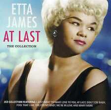 ETTA JAMES - AT LAST - THE COLLECTION - 2 CDS - NEW!!