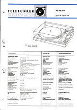 Service Manual-Anleitung für Telefunken TS 950