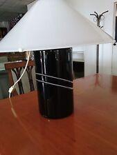 Glass table lamp Lampada tavolo RES MURANO Vetreria  DE MAJO design anni 70