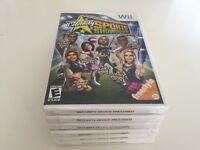Celebrity Sports Showdown (Nintendo Wii, 2008) WII NEW