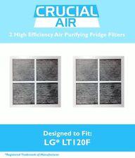 2 LG LT120F Air Filter ADQ73334008 ADQ73214404 ADQ73214402 Kenmore Refrigerator