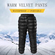 Naturehike Women Men Down Pants Outdoor Camping Climbing Waterproof Warm Trouser