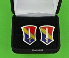 U.S. Army 1st Field Force Vietnam Cuff Links & Gift Box Cufflinks - Usa Vietnam