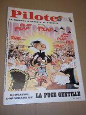"""""""PILOTE no 463"""" (1968) ASTERIX / PILOTORAMA - A BALI / FRED  / GOTLIB**"""
