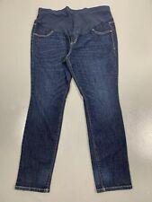 Maternity Old Navy 18 Plus Stretch Waist Dark Wash Skinny Jeans