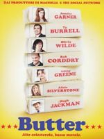 Butter DVD NUOVO Sigillato Jennifer Garner RN