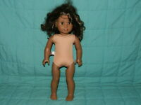 Authentic American Girl Doll 2014 African American Black