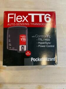 PocketWizard FlexTT6 Transceiver for Canon Cameras Flashes