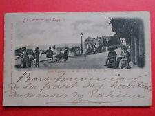 ST-GERMAIN-EN-LAYE  :  La Terrasse et le Pavillon Henri IV...........VO.1902.