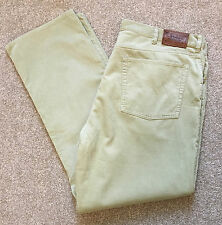 POLO RALPH LAUREN BEIGE CORDUROY 5 POCKET JEANS TROUSERS CORDS 42 W 32 L COST£95